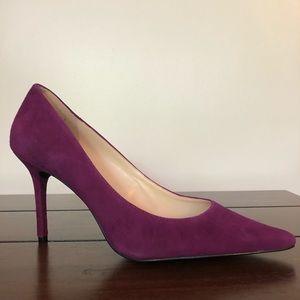 Guess Footwear Rolene 2 Dark Pink Suede 9.5